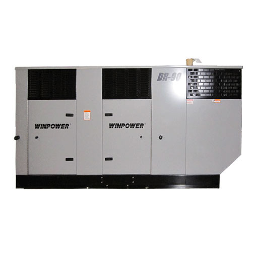 Winco DR90I4 Emergency Standby Generator 133hp Liquid Cooled 90kw Diesel    FREE SHIPPING