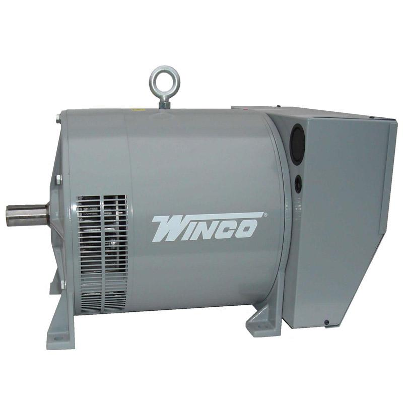 Winco Generators: EC45PSB4G-17---Emergency Generator, 45Kw, 120/240 Volt, 60Hz, 108 Amps, 1800 RPM