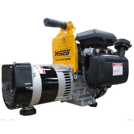 Winco W3000H Portable Electric Generator Honda Gasoline Engine