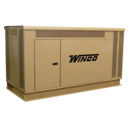 Winco Generators: PSS21---Packaged Standby Generator, 21kW, GM 3.0L Engine