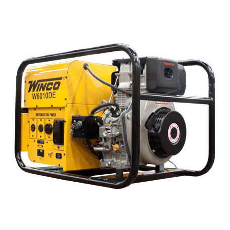 Winco W6010DE Portable Electrical Generator diesel Recoil Electric