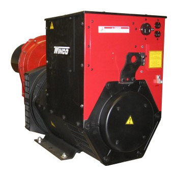 Winco Generators:W85FPTOS---Power Take Off Generator, 120/240 Volt Single Phase, 60Hertz, 170HP, 1,000RPM, 354 Amps