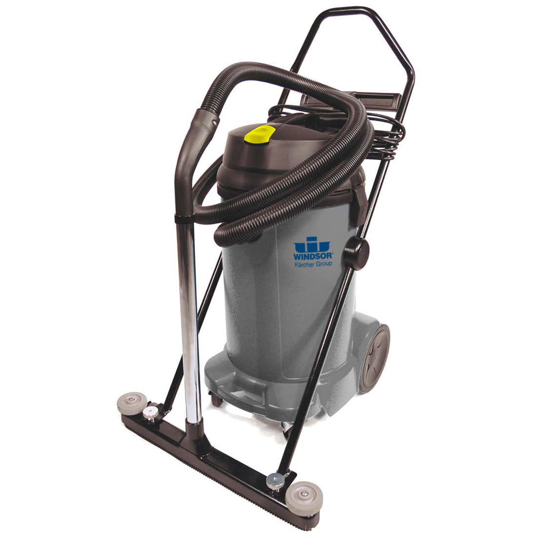 Windsor Recover 12 Gal Wet Dry Shop Vacuum 9.840-844.0 With Front Mount Squeegee FREE Shipping 120 Volts