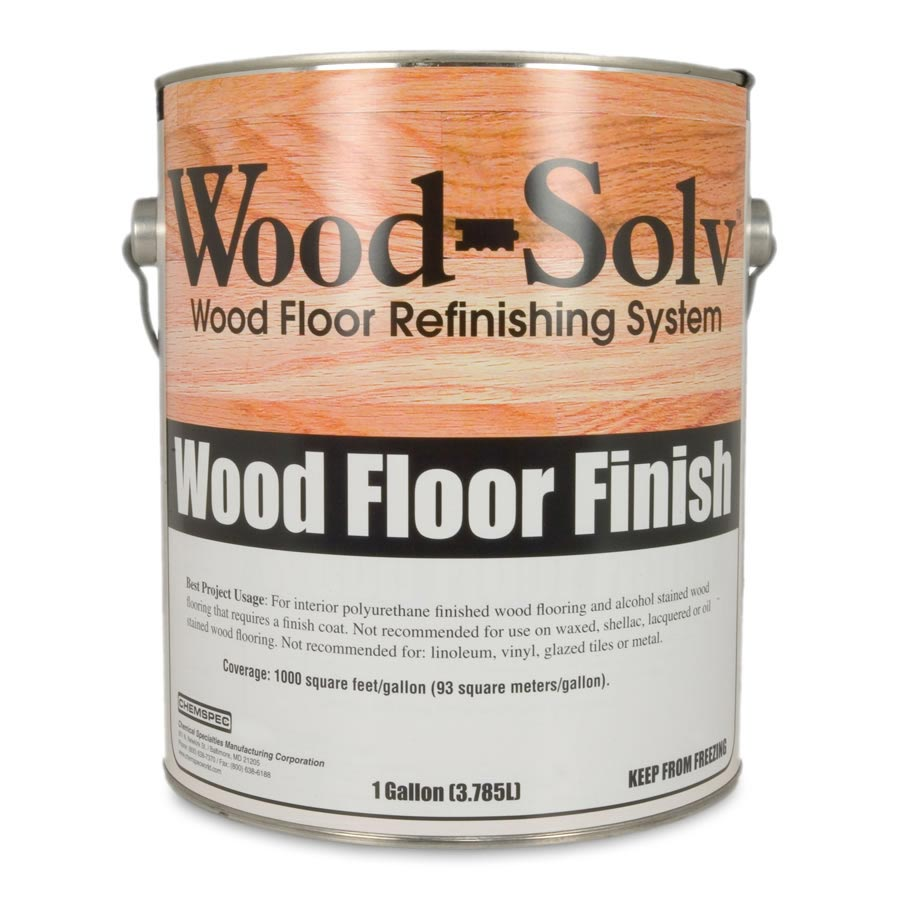 Chemspec C-WSGF4G Wood-Solv® Gloss Finish 4 Gallon FREE Shipping