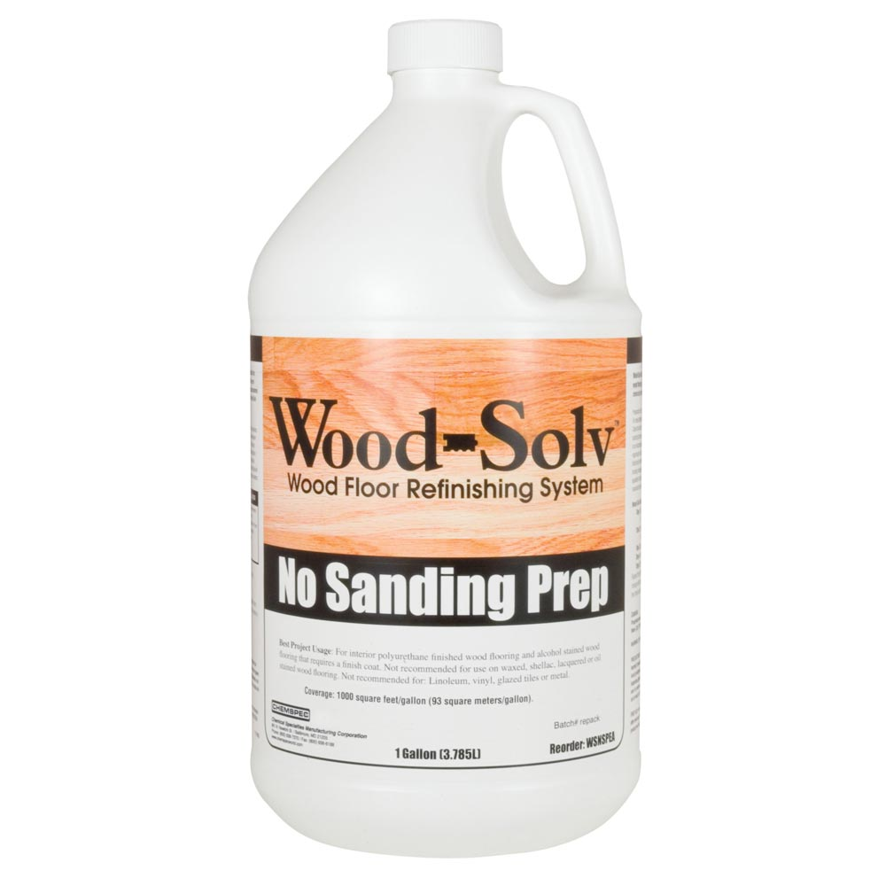 Chemspec C-WSNSP4G Wood-Solv® No Sanding  Prep 4 Gallon Case FREE Shipping