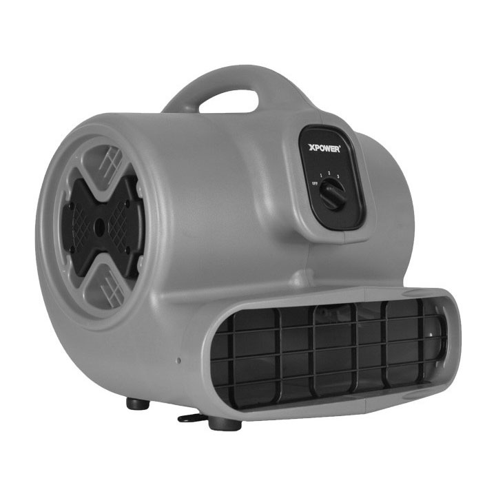 XPower P630 Carpet Restoration Air Mover Stackable light weight