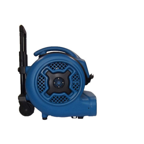 XPower P800H Carpet Restoration Air Mover with wheels and luggage handle