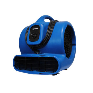 XPower X830 Carpet Restoration Air Mover 1hp 3100cfm 60hz 8amps