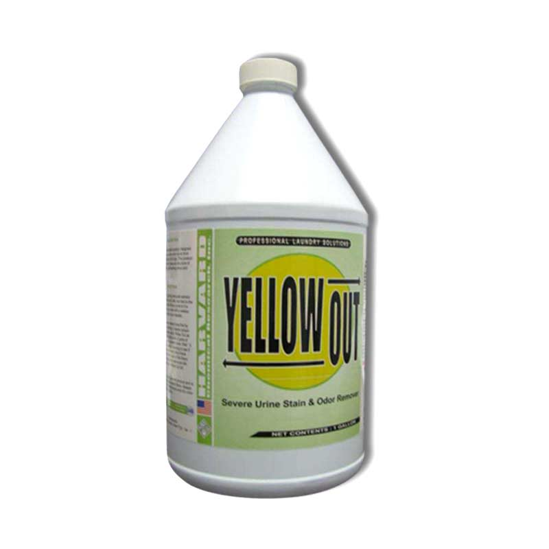 Harvard Chemical 3503 Yellow Out Urine Stain Remover 1 Gallon