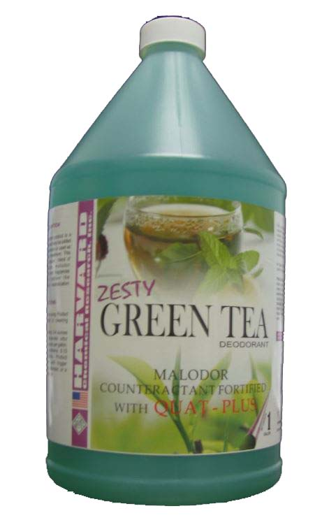 Harvard Chemical Zesty Green Tea Deodorant with Quat-Plus Case 4/1Gallon 709-4