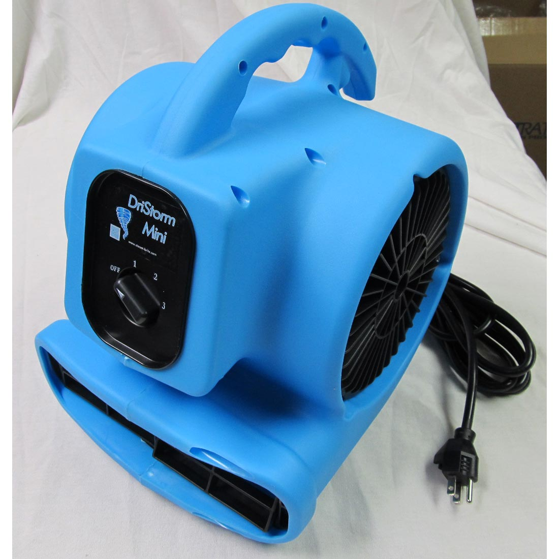 -DriStorm Mini Air Mover 2.3Amp, 1/5 HP, 3 Speed, GFCI AC085P230AT Blower Micro Fan Small Compact