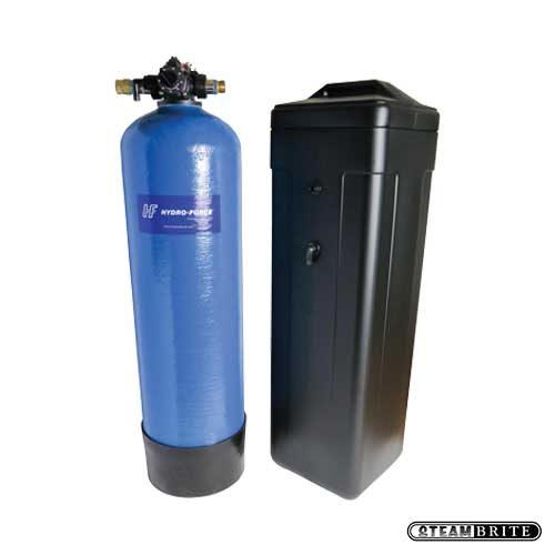 Hydro-Force: Carpet Cleaners Compact Water Softener w/ Automatic Recharge and Brine Tank AC40 (large)