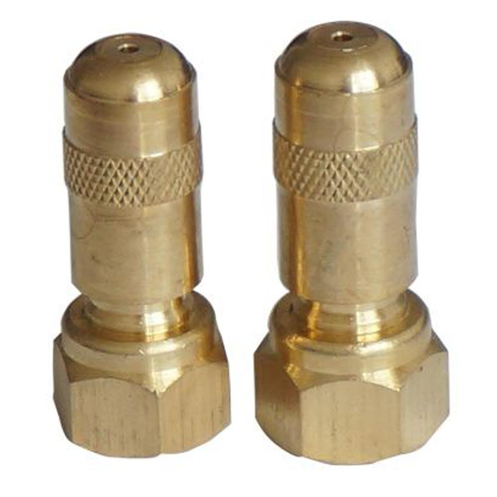 Brass conejet adjustable spray tip in fip