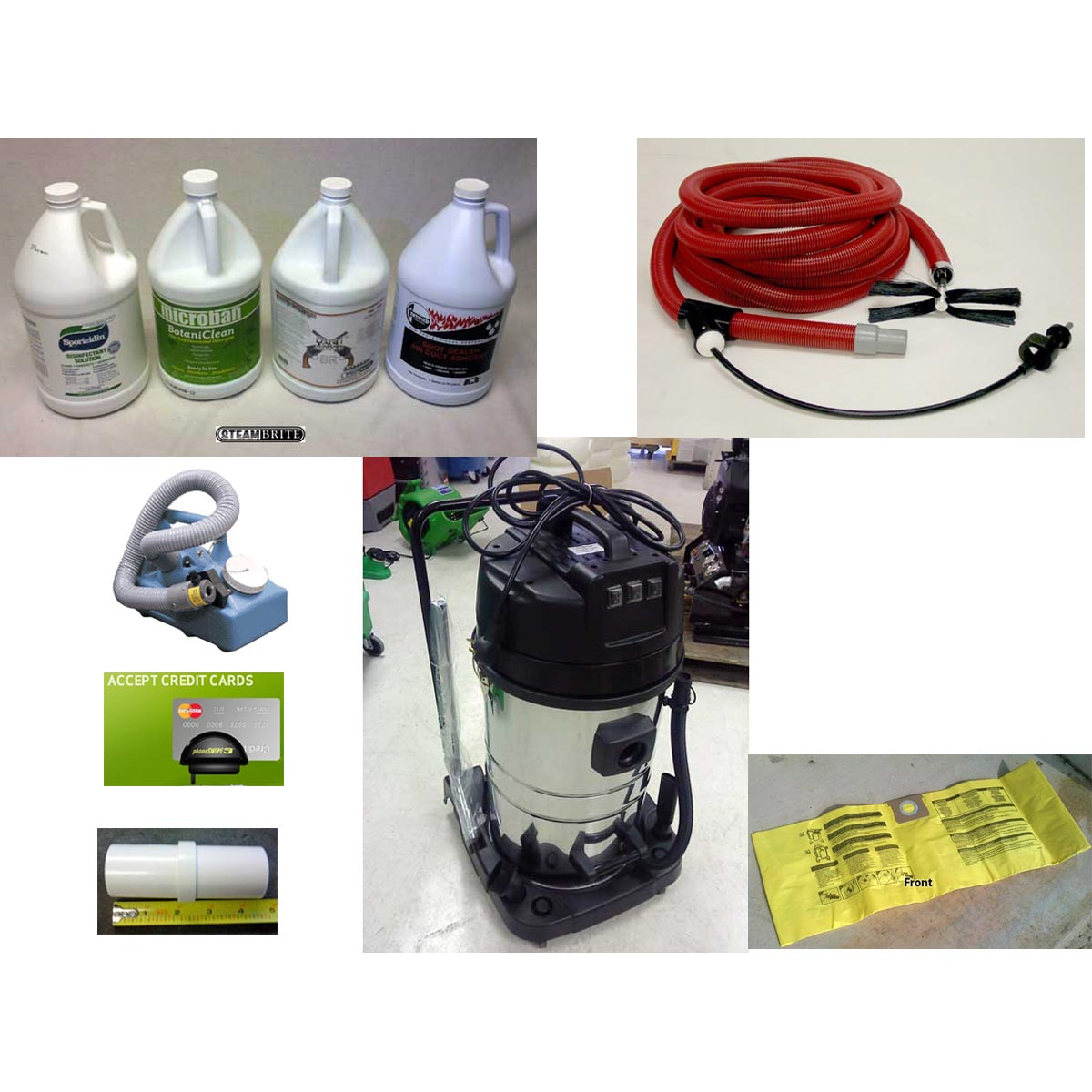 Air Care Cable Drive Starter Package with HEPA Triple Motor Vacuum