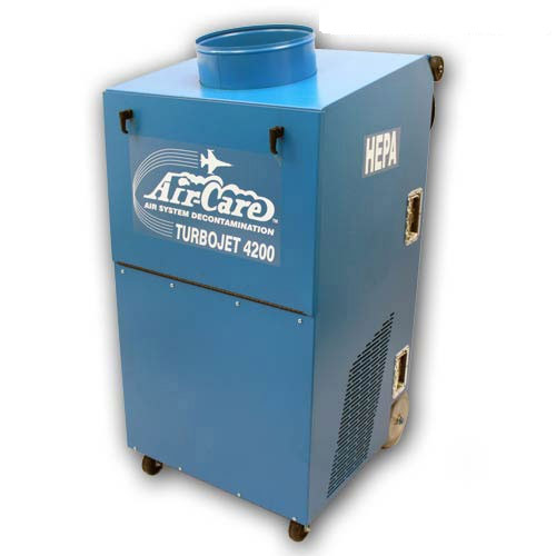 Air Care: Turbojet 4200B-Industrial/Commercial (Package) For Air Duct Cleaning