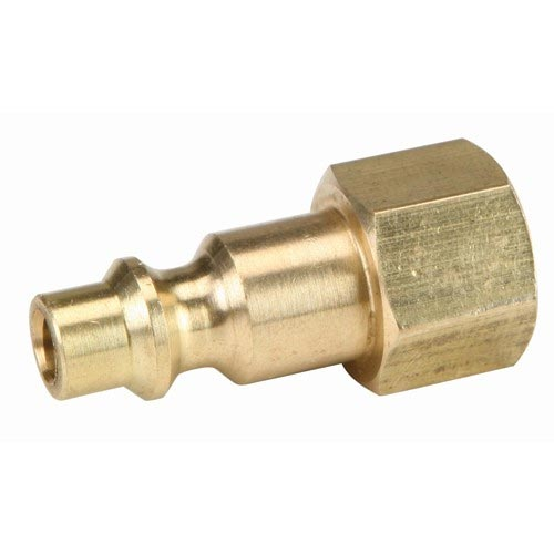 Air Hose QD 1/4in Fip X Brass male plug 20151103