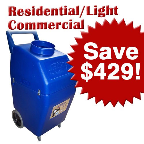 Air Care: Residential Light Commercial Air Duct Cleaning Start Up Package