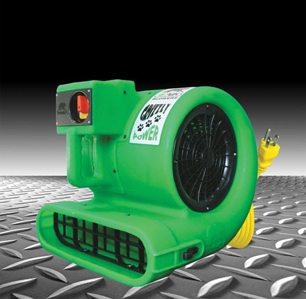 B-Air GP33 Carpet Flood Restoration Air Mover Grizzly