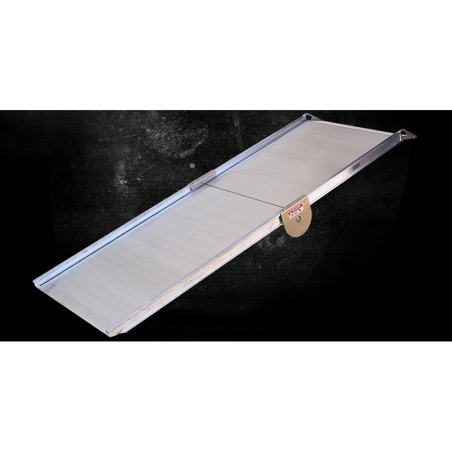 Link Manufacturing Ramps LS50-36-126 Folding LS50 Series Heavy Duty Folding Aluminum Ramp 36x126