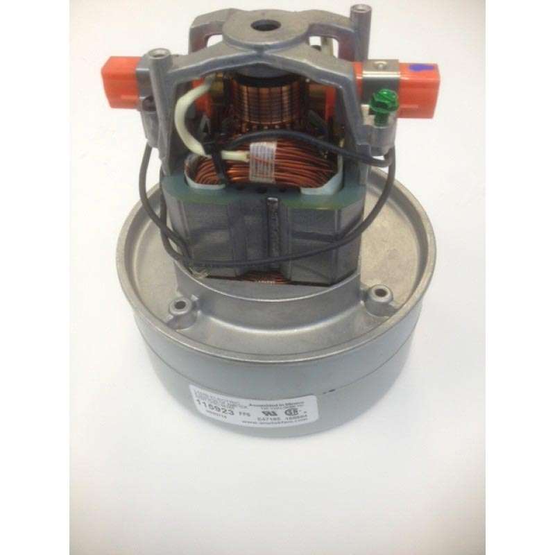 Ametek Lamb 100327 Vacuum Motor 120V Thru-Flow design 2 Stage 5.7in Diameter (8.685-497.0)