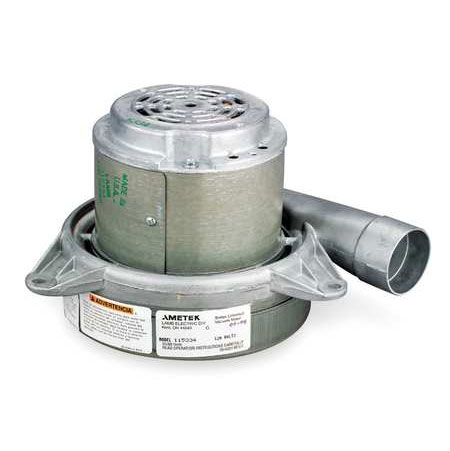 Ametek Lamb 115684-00 7.2 inch Two stage Vacuum motor 240 volts 5.9 amps