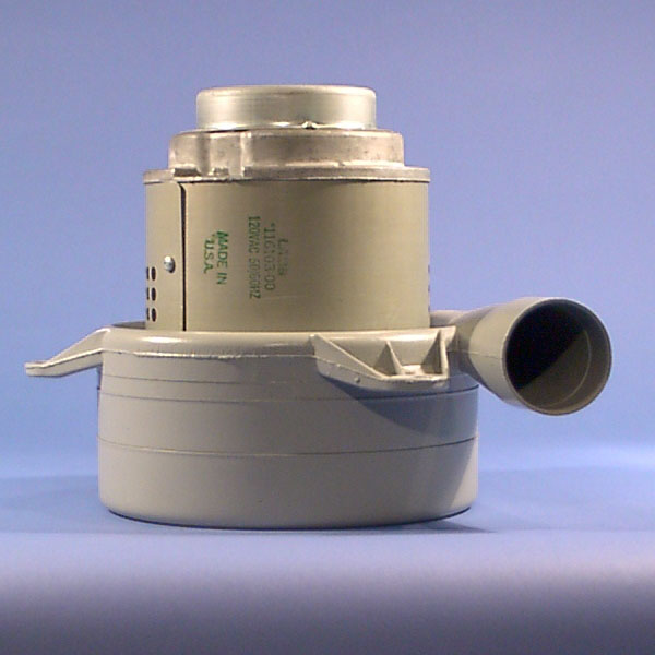 Ametek Lamb 116103-00 Three Stage Vacuum Motor 7.2in Tangential Discharge AV18  8.685-446.0