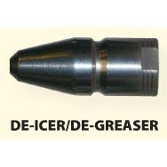 Aquanoz De-Icer De-Greaswer Sewer Jetting Nozzle 3 Forward Plus 6 Back Sprays 1/2 inch Fip
