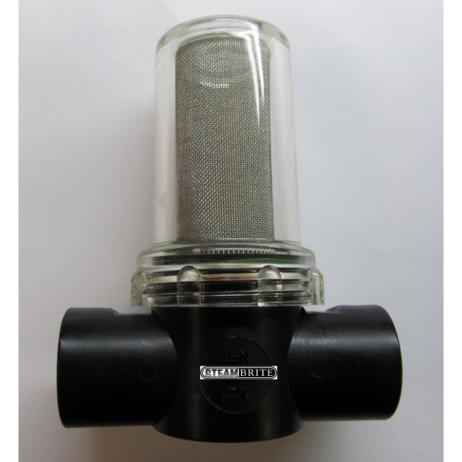 Aquatec 25-185 Pump Water Filter 1 2 Fip X 1 2 Fip 80 Mesh ...