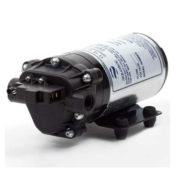 Aquatec 170 psi Triplex Diaphragm Switched Bypass Pump 115 Volts DDP 5800 58-FLC-170 G11234 UPC 814338022449