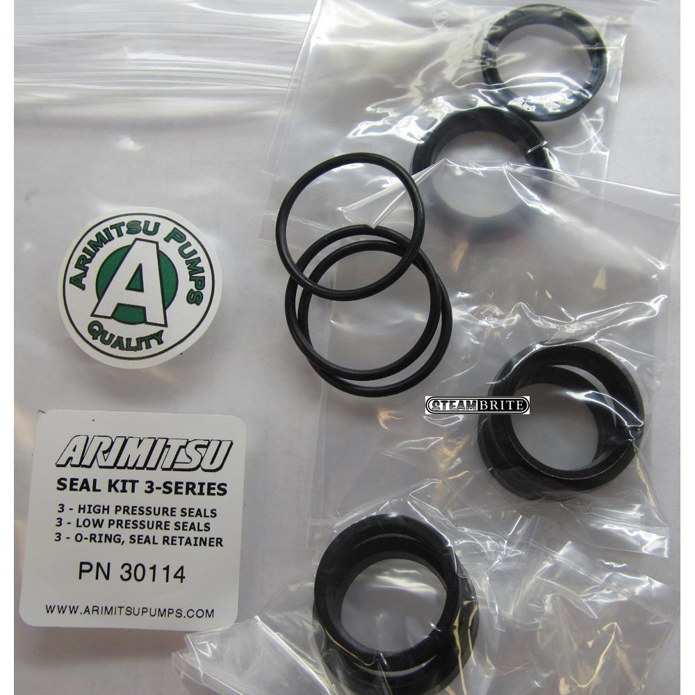 Arimitsu 30114 Seal Repair Kit fits 313 series Rebuilds 3 cylinders per kit 3 series
