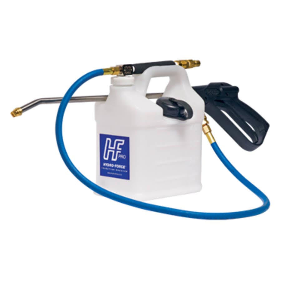 HydroForce AS08 Injection Sprayer Pro High Pressure Sprayer Thick Walled Jug 2 Caps Lance Mount For Carpet Cleaning FREE Shipping A70109