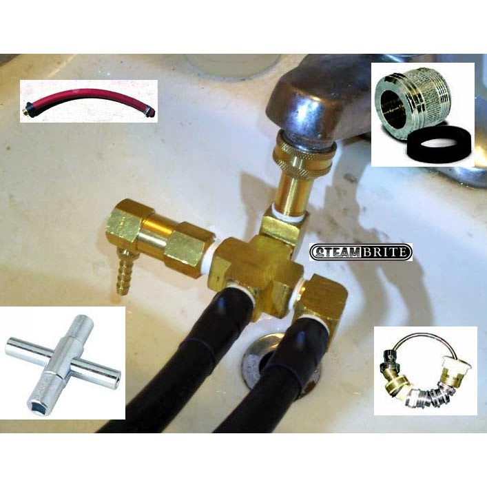 Clean Storm Pressure Feed Auto Fill Conversion Kit Dealer Installed With Hook Up Accessories 20131227