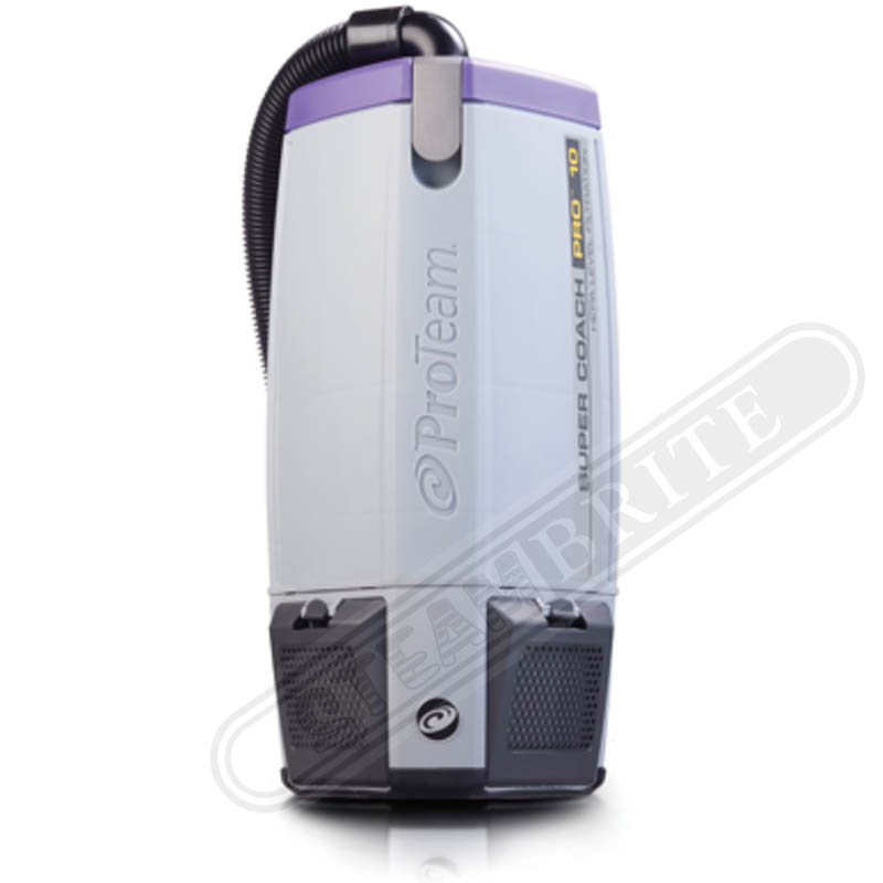 ProTeam: Super Coach Pro 10 Back Pack Vacuum Cleaner 1100 watts