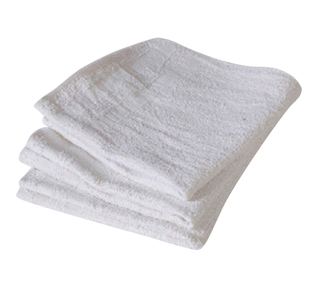 Terry Towels 60 Pack 14 X 17 inches White 100% Cotton Pefect for Spotting AU16-Lt30