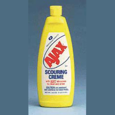 CLEANER,SCOURING,AJAX CREME,LEMON