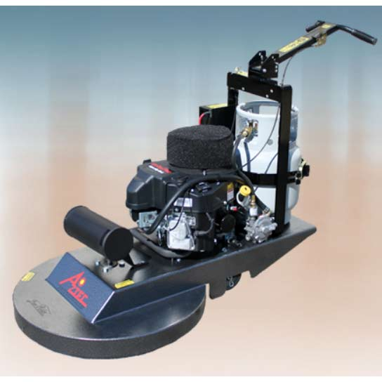 Aztec Products Low Rider Series Propane Burnisher 27inch 070-27LRD w/ Dust Control Option