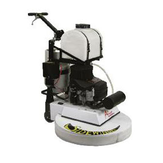 how to use a floor stripping machine