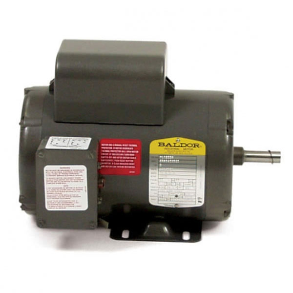 Baldor electric 4hp motor 1725rpm 56c frame 240 volts 16 for 5 hp motor amps