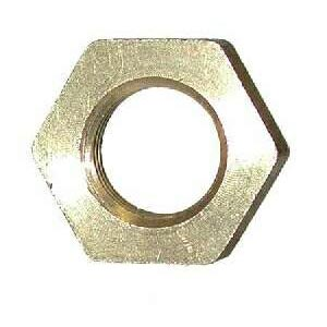 Brass Bar Stock 1/2 inch Jam Nut Locknut - 8.739-894.0  28126  28-126