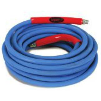 Legacy Blue Pressure Washer Hose 4500psi 3/8x50ft 2wire Smooth Jacket Solid X Swivel 8.739-229.0 Tuff Skin