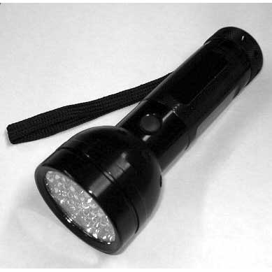 HydroForce AX173 UV 49-51 LED Flashlight Urine detection Torch 1648-0170