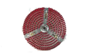 Rotovac RA-209 12 inch bonnet head with jets for use with polishing pads for 360i machine
