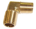 "3/4"" MSAE X 3/4"" Mip Brass Elbow 661300"