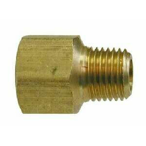 Brass Adapter 3/8in Mip X 1/2in Fpt  - 8.705-191.0 - [28195]  28195L