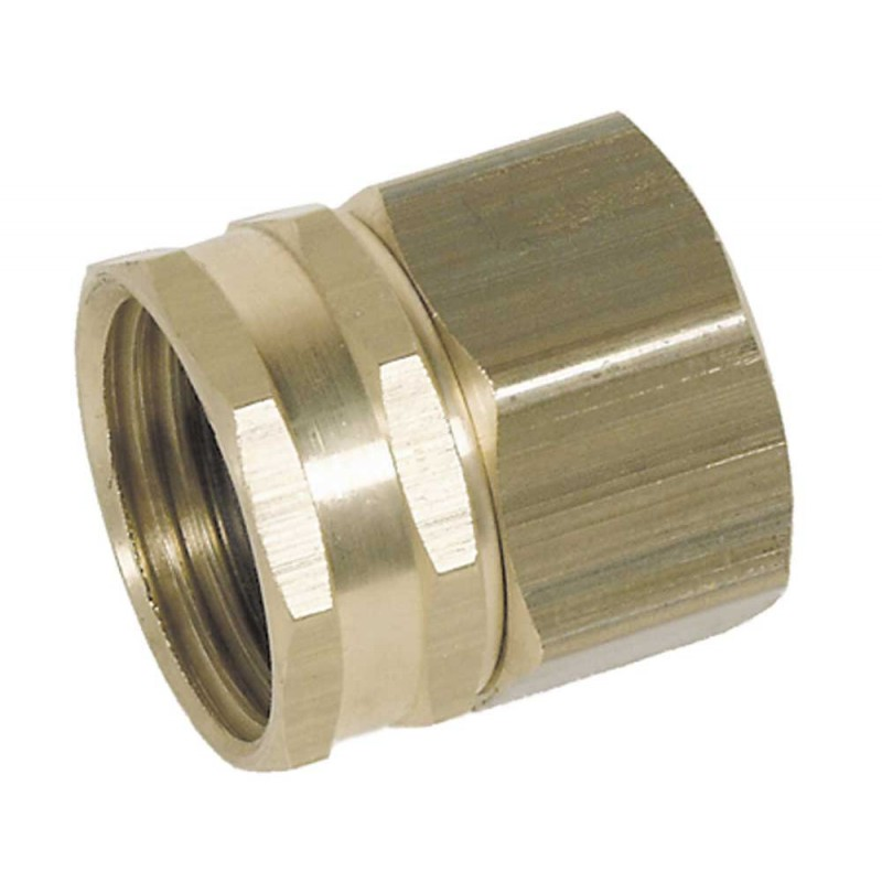 3/4 FGHX Garden Hose Swivel Fitting X 3/4in Fpt with Washer Brass [8.705-034.0]  30006  30-006  BR326  GH-660B