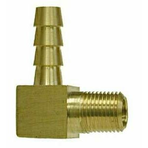 1/2in Mip x 1/2in Barbed Brass 90 Elbow Fitting 32311