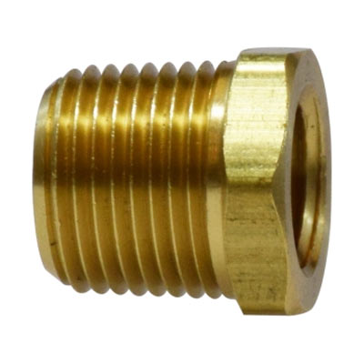 1/4in Mip X 1/8in Fip Brass Bushing Adaptor [110A-BA]  28102  BSHG3814
