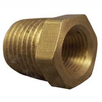 3/8in Mip X 1/8in Fip Brass Bushing Adapter  28103