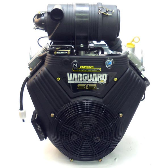 Briggs Stratton 35hp Vanguard V-Twin Horizontal Engine Electric Start 613477-3048-J1  993cc  4in.L x 1 1/8in. Dia. Shaft