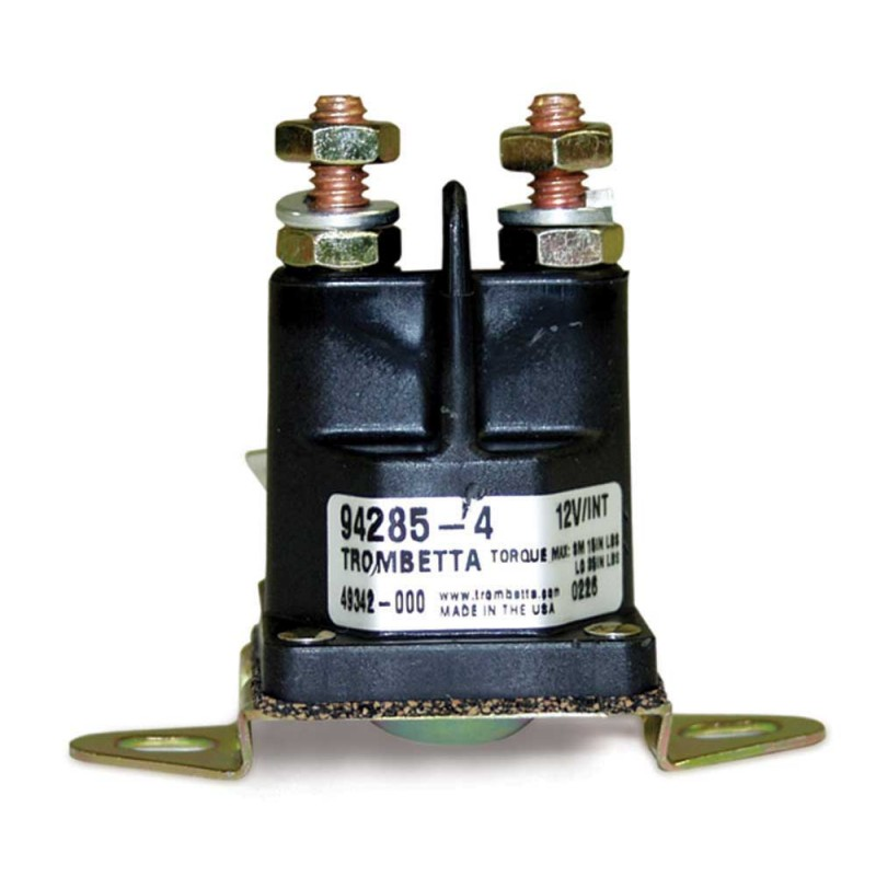 Briggs Trombetta Delco Starter Solenoid 12vdc Intermit - 8.701-691.0 - For Propane Burnisher
